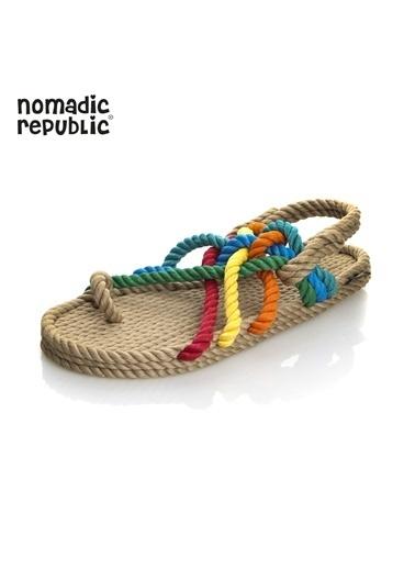 Nomadic Republic Sandalet Renkli